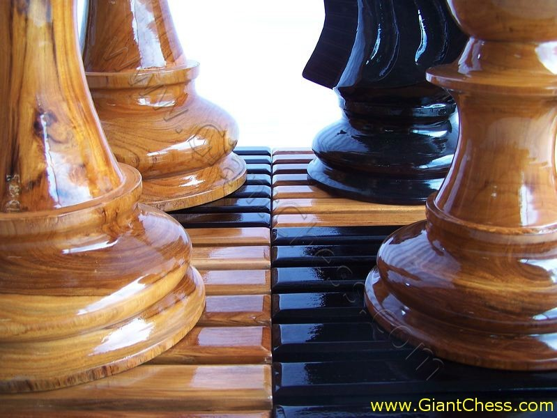 retailing and giant chess board