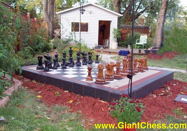 16u2033 (40 Cm) Giant Chess Set Is Great Family Entertainment