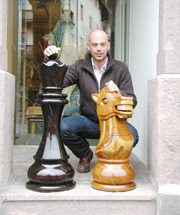48 inch Wooden Chess Set