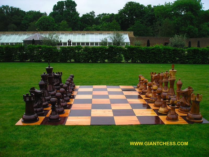 Outdoor Chess Big Sets Offers Giant Games