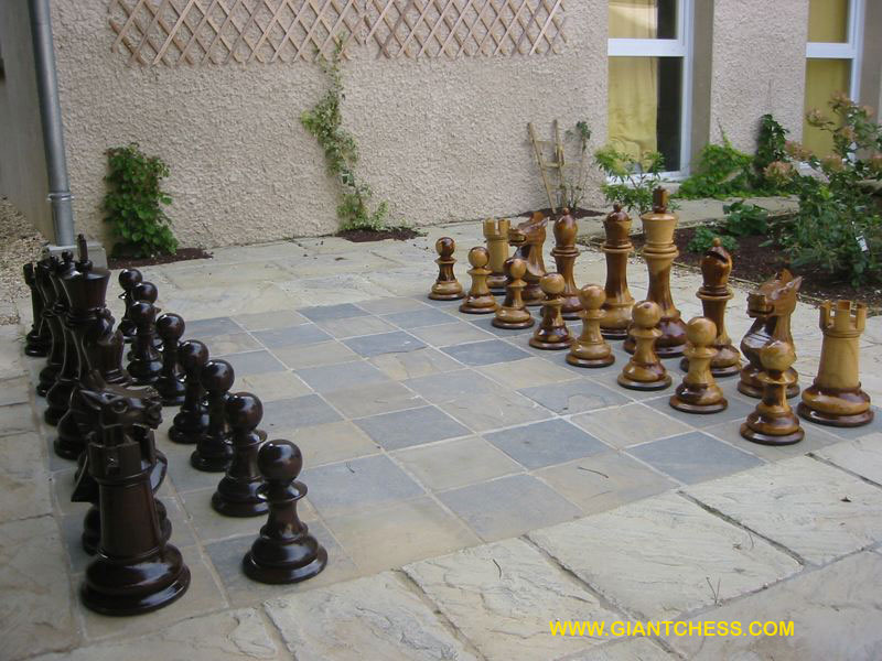 set giant outdoor chess from france jpg