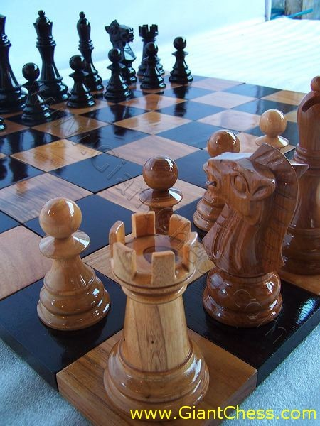 Chess Factory Beautiful Teak Wooden Board From