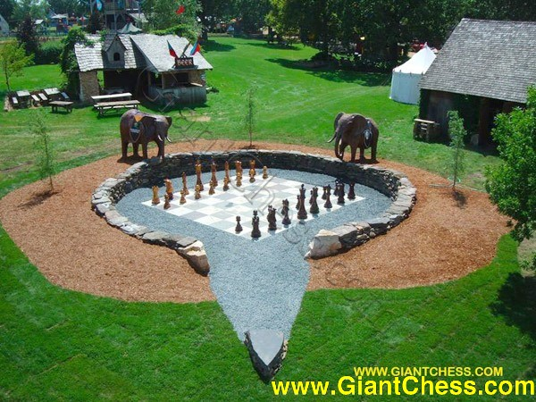 These 24 Inch Tall Giant Chess Sets Are Great For Schools Resorts Campgrounds Cruise Ships And Hotels Or Your Own Backyard